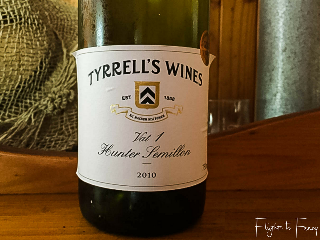 Long weekend in the Hunter Valley - Tyrrell's Vat 1 Semillon