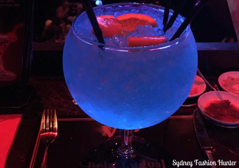 Dracula's Comedy Cabaret Restaurant Cocktail