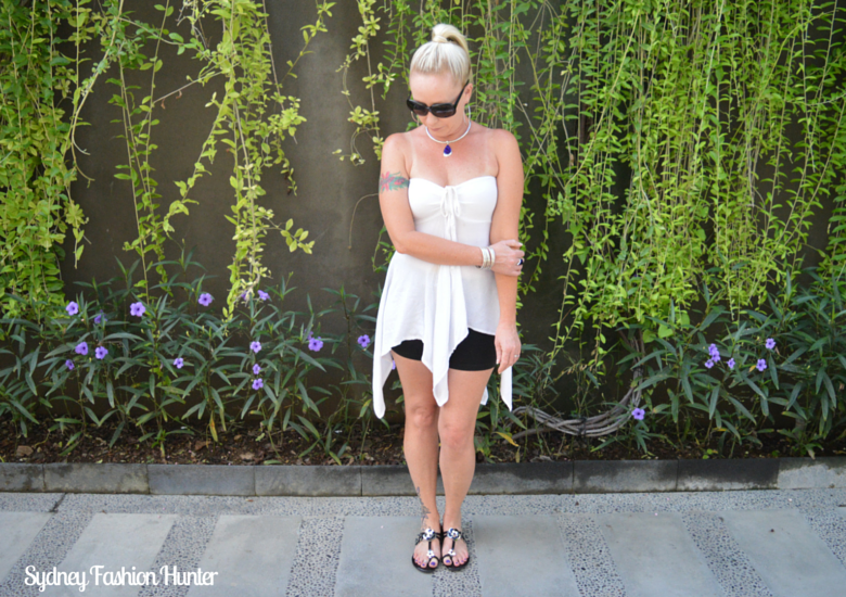 Floaty White Summer Top