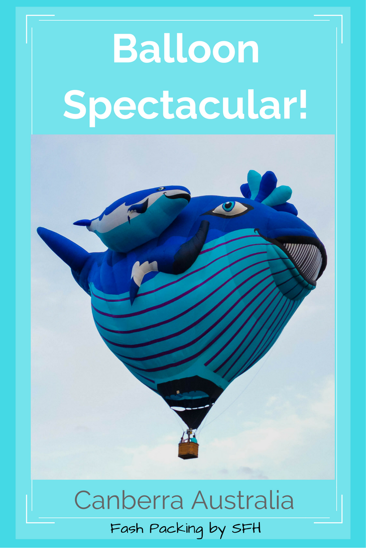 Did you know Canberra holds an annual hot air balloon spectacular? All the details you need to start planning your next trip are right here http://bit.ly/Canberra-Balloon