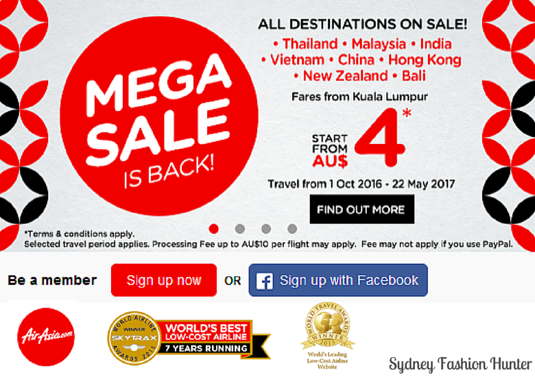 Air Asia Mega Sale