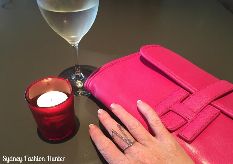 Sydney Fashion Hunter Fresh Fashion Forum #25 - Electric Blue Dres (Ring & Bag)
