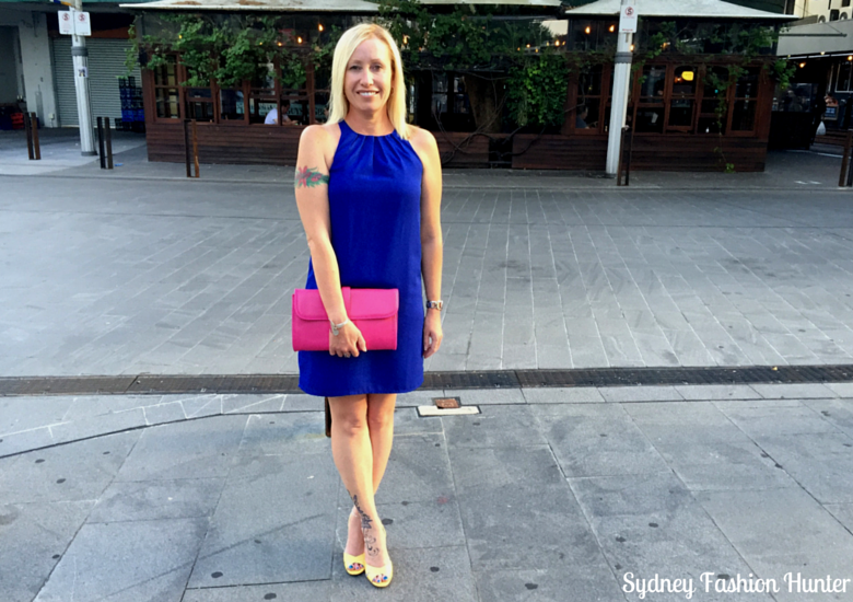 Sydney Fashion HUnter: Fresh Fashion Forum #25 - Electric Blue Dress