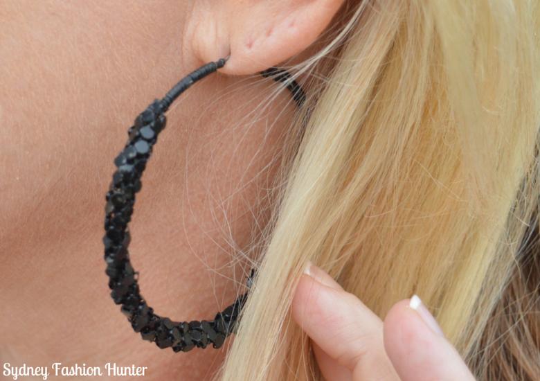 Sydney Fashion Hunter: Fresh Fashion Forum #26 - Showpo Cape Coat Earrings