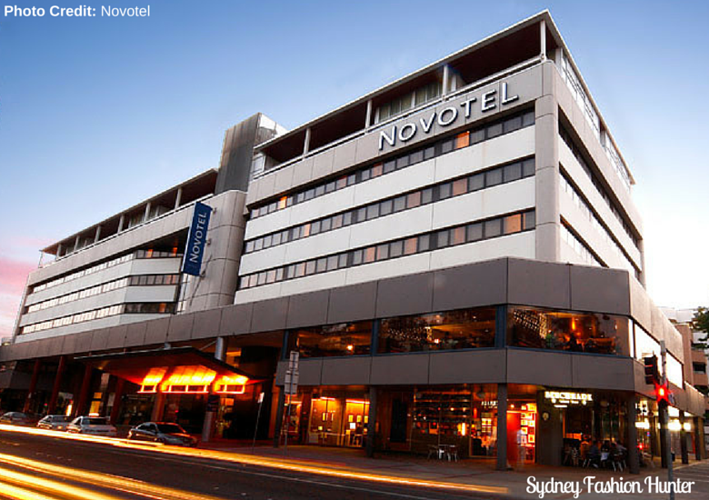 Sydney Fashion Hunter: Novotel Canberra Exterior