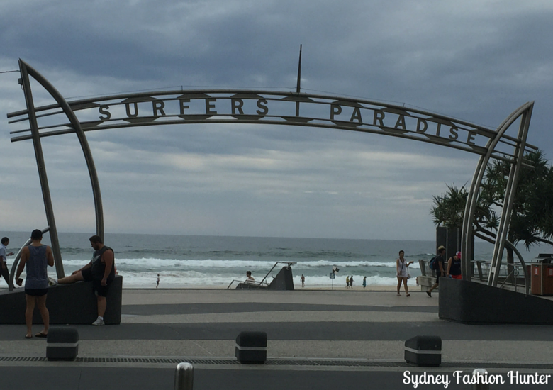 Sydney Fashion HUnter: Surfers Paradise Beach In The Rain