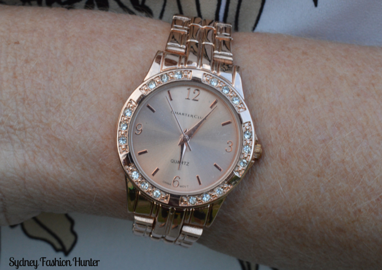 Sydney Fashion Hunter Fresh Fashion Forum #27 - Rose Gold Watch