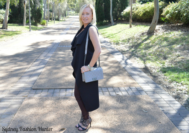Sydney Fashion Hunter: Fresh Fashion Forum #28 SheIn Sleeveless Trench - Side