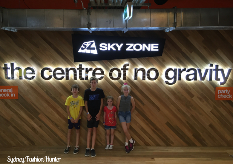 Sydney Fashion Hunter: Skyzone Miranda - Entrance
