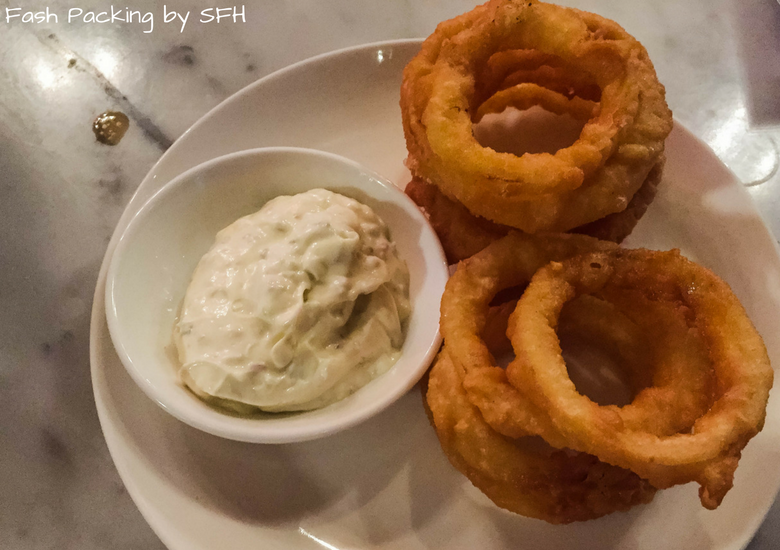 Fash Packing by Sydney Fashion Hunter: Romeos Bar & Grillery - Onion Rings
