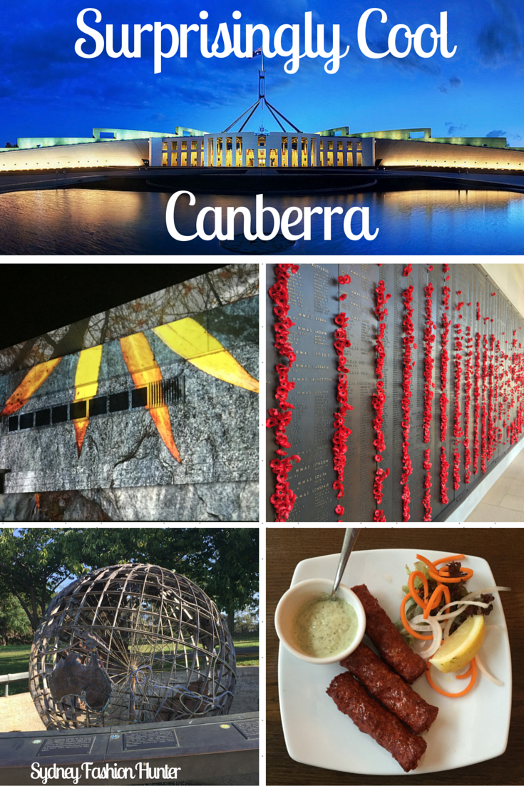 Think Canberra is boring? Think again! I spent a surprising cool weekend in the nation's capital. Find out all the good stuff here http://bit.ly/sfh-canberra