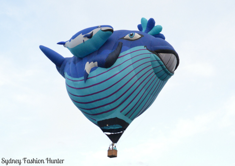 Sydney Fashion Hunter: Canberra Balloon Spectacular - Whale