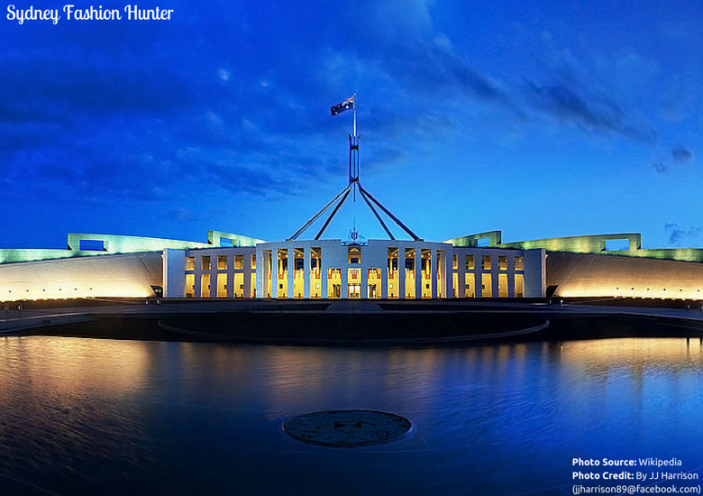 Sydney Fashion Hunter: Canberra Parliament House