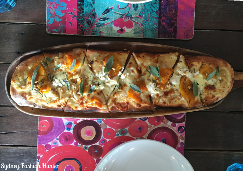 Sydney Fashion Hunter: Sunshine Coast Dining - Bohemian Bungalow Cinderella's Ride Pizza