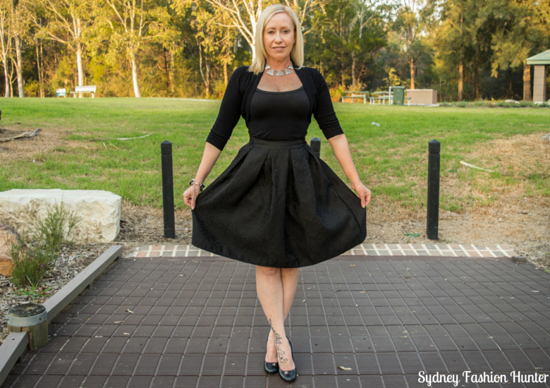 Sydney Fashion Hunter: Fresh Fashion Forum #34 Jacquard Skirt