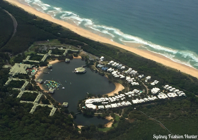 Sydney Fashion Hunter: Novotel Twin Waters Review - Aerial