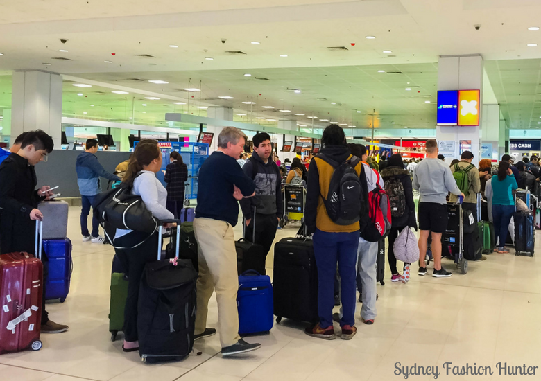 Sydney Fashion Hunter: Air Asia X Business Class Review - Queue