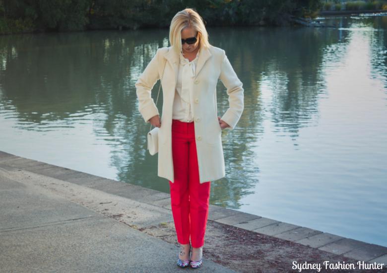 Sydney Fashion Hunter: Fresh Fashion Forum #35 - Coral Pants - Front