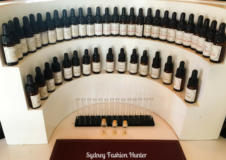 Sydney Fashion Hunter: L'Atelier Parfums Perfume Making - organ