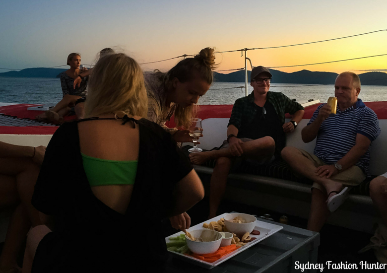 Sydney Fashion Hunter: Explore On The Edge Sunset Cruise Hamilton Island - Food