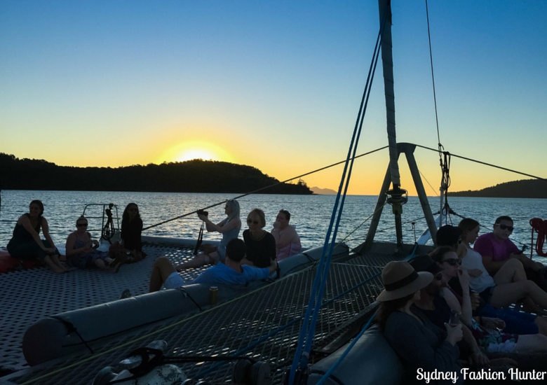 Sydney Fashion Hunter: Explore On The Edge Sunset Cruise Hamilton Island - Nets