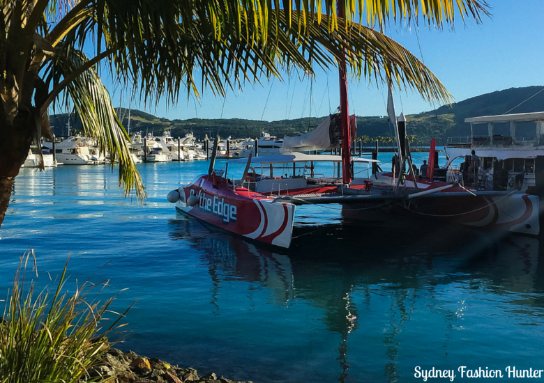 Sydney Fashion Hunter: Explore On The Edge Sunset Cruise Hamilton Island - On The Edge in Marina