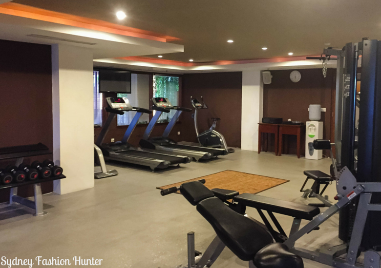 Sydney Fashion Hunter: The Magani Hotel Bali Review - Gym