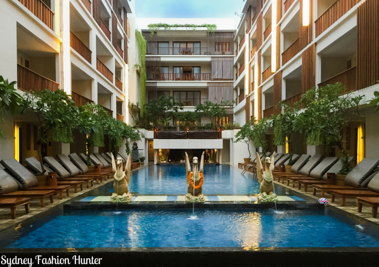 Sydney Fashion Hunter: The Magani Hotel Bali Review - Main Pool