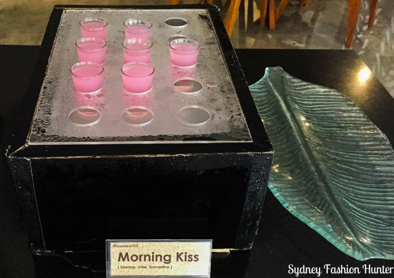 Sydney Fashion Hunter: The Magani Hotel Bali Review - Morning Kiss Breakfast Juice Shot