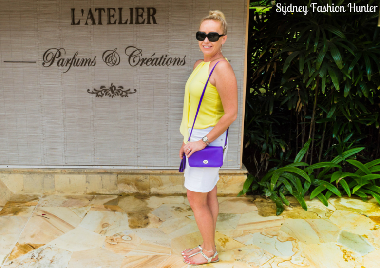 Sydney Fashion Hunter: Fresh Fashion Forum 42 - Asymmetric Yellow Halter Top