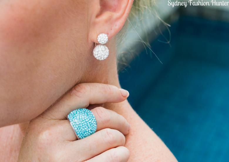 Sydney Fashion Hunter: Fresh Fashion forum #43 Printed Maxi Skirt - Earring & Ring