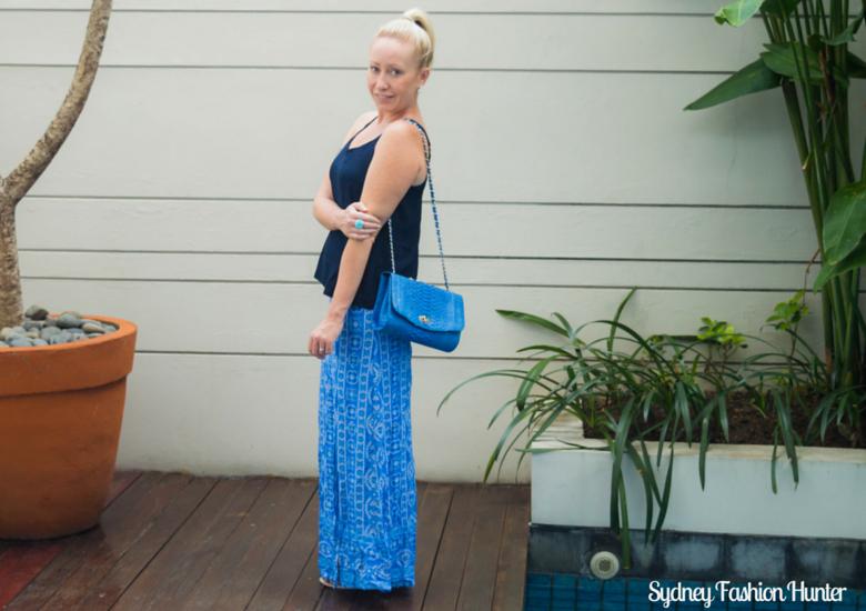 Sydney Fashion Hunter: Fresh Fashion forum #43 Printed Maxi Skirt- Private Pool