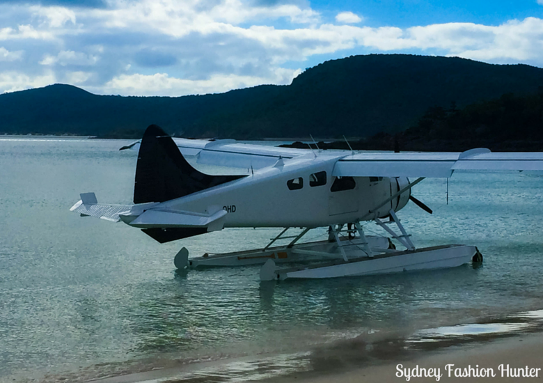 Sydney Fashion Hunter: Whitehaven Beach Plane