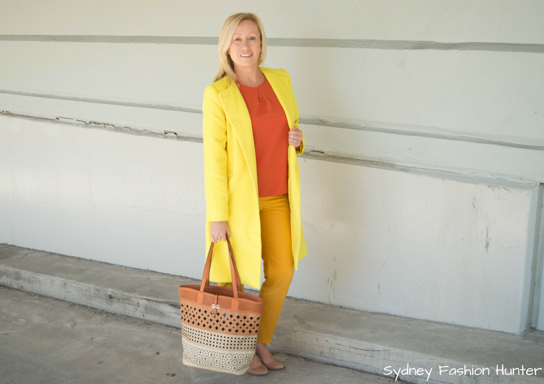 Fash Packing by Sydney Fashion Hunter: Fresh Fashion Forum 48 - Bright Yellow Wool Coat