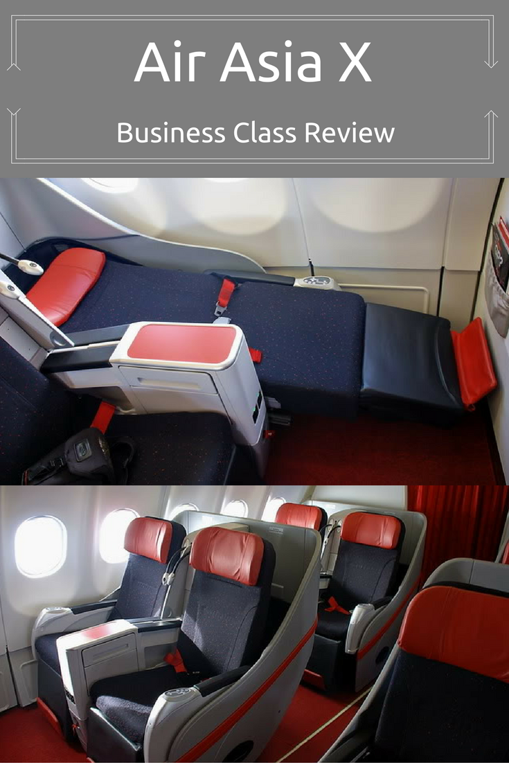 Budget airlines get a bad wrap but I'm all for a flat bed for a fraction of the cost the big boys charge, Find out what its lke on the other side of the red curtain here http://bit.ly/air-asia-x