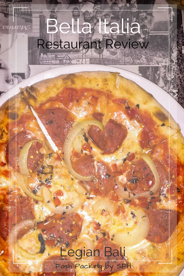 Bella Italia in Legian Bali is a great option for a late night feed. Read the full review here ... http://bit.ly/Bella-Bali