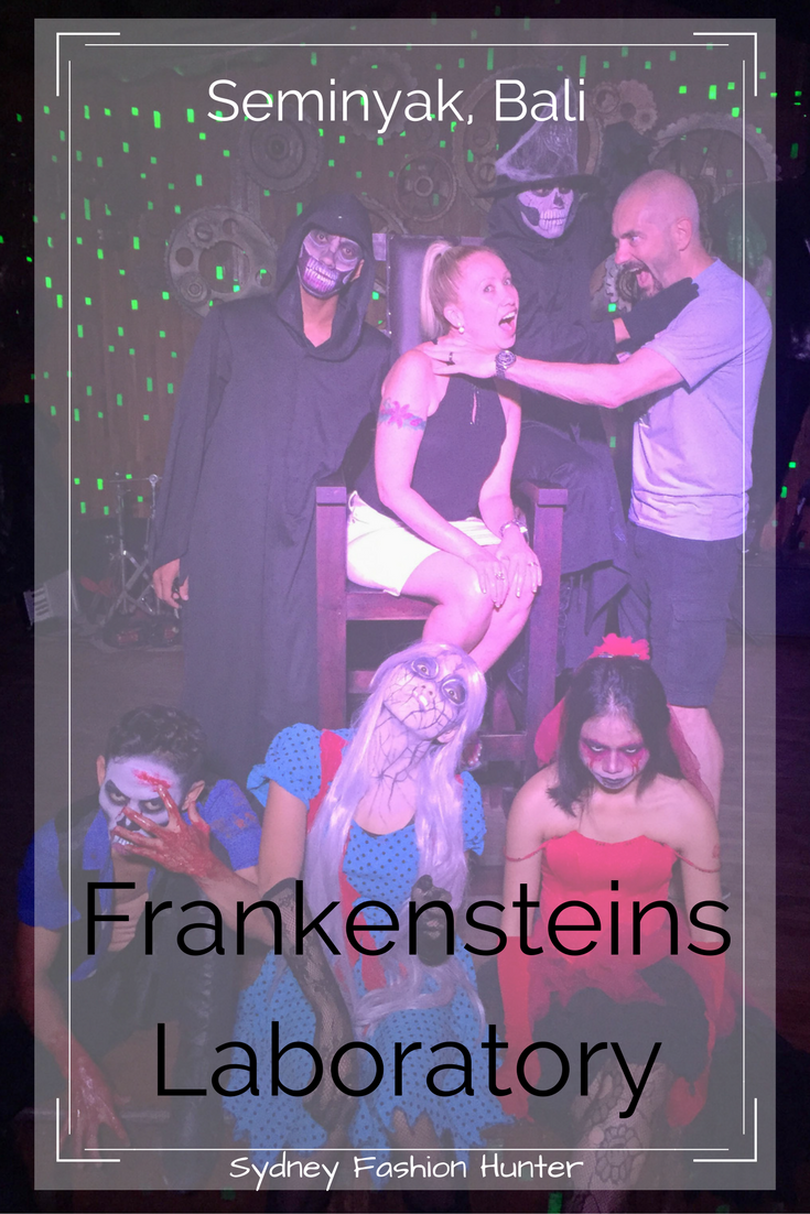 Frankensteins Laboratory is a great night out in Seminyak Bali. Get your freak on and read all about it here ... http://bit.ly/Frankensteins-Bali