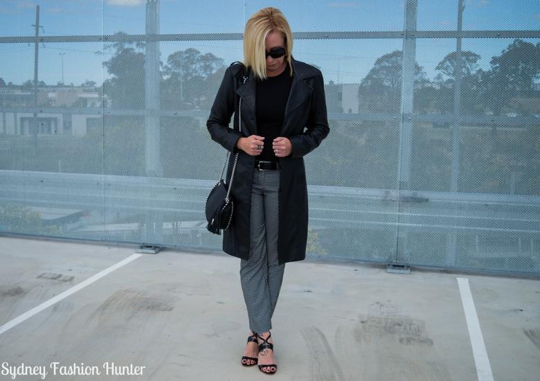 Sydney Fashion Hunter: Fresh Fashion Forum 46 - Black Leather Coat - Front2