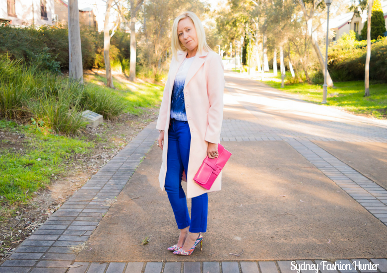 Sydney Fashion Hunter: Fresh Fashion Forum #46 - Pink Waterfall Coat - Side