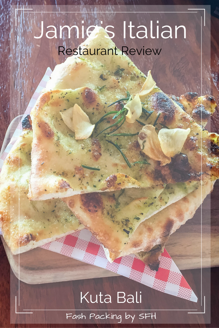 If you are looking for authentic pizza in Bali Jamie's Italian Kuta Beach won't dissapoint. The cocktails aren't bad either! Full review on the blog http://bit.ly/jamies-bali