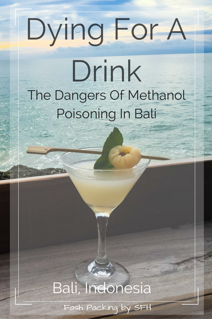 I usually share the great stuff about Bali but there is a litte known dark secret you need to be aware of. Methanol poisoing kills but knowledge saves lives. Read this. The next life saved could be yours http://bit.ly/methanol-bali