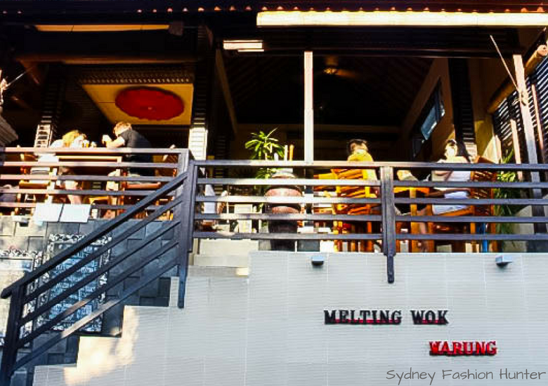 Fash Packing by Sydney Fashion Hunter: Melting Wok Ubud Bali Exterior