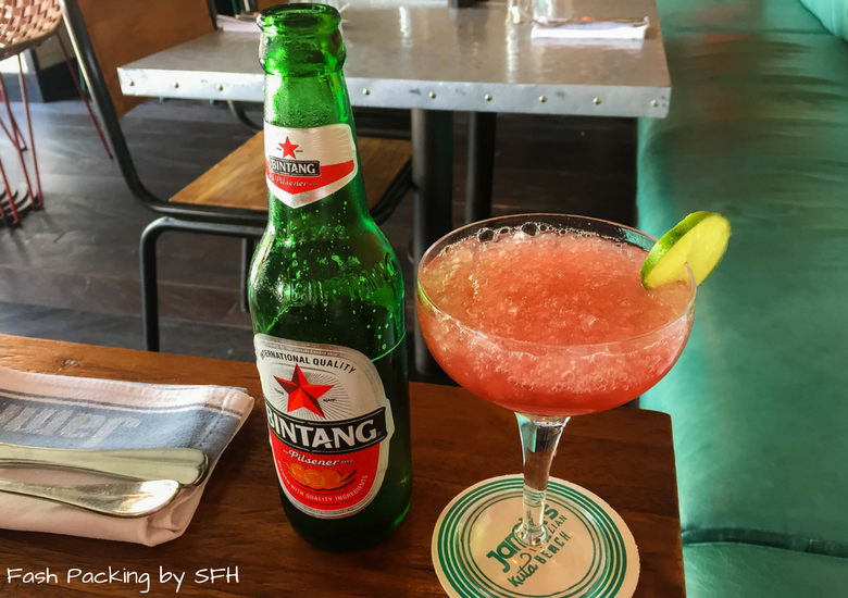 Fash Packing by Sydney Fashion Hunter: Restaurant Review - Jamie's Italian Kuta Bali - Drink