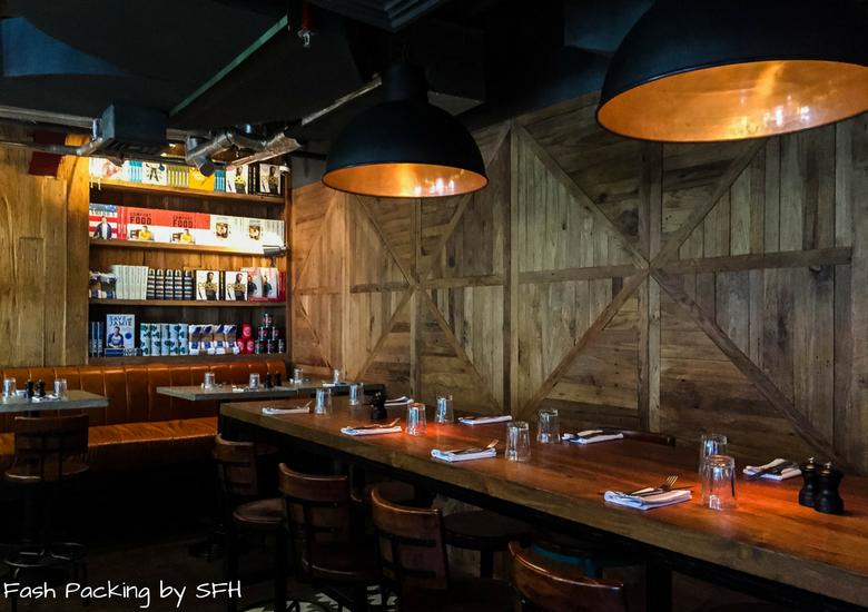 Fash Packing by Sydney Fashion Hunter: Restaurant Review - Jamie's Italian Kuta Bali - Inside Downstairs