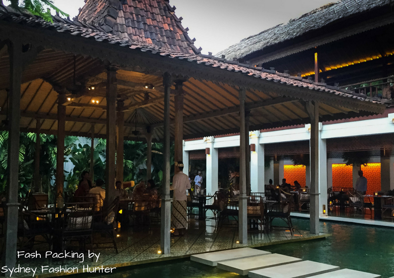 Fash Packing by Sydney Fashion Hunter: Restaurant Reviews Bambu Seminyak - Pagoda