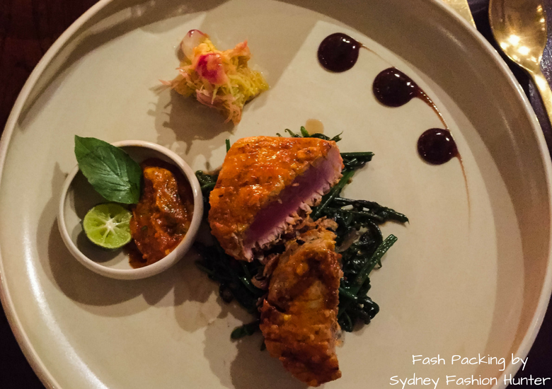 Fash Packing by Sydney Fashion Hunter: Restaurant Reviews Bambu Seminyak - Seared Yellow Fin Tuna