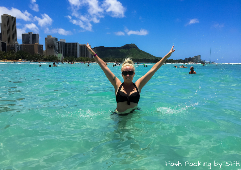 Fash Packing by Sydney Fashion Hunter: Sheraton Waikiki Review - Beach