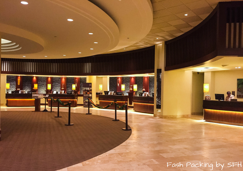 Fash Packing by Sydney Fashion Hunter: Sheraton Waikiki Review - Reception