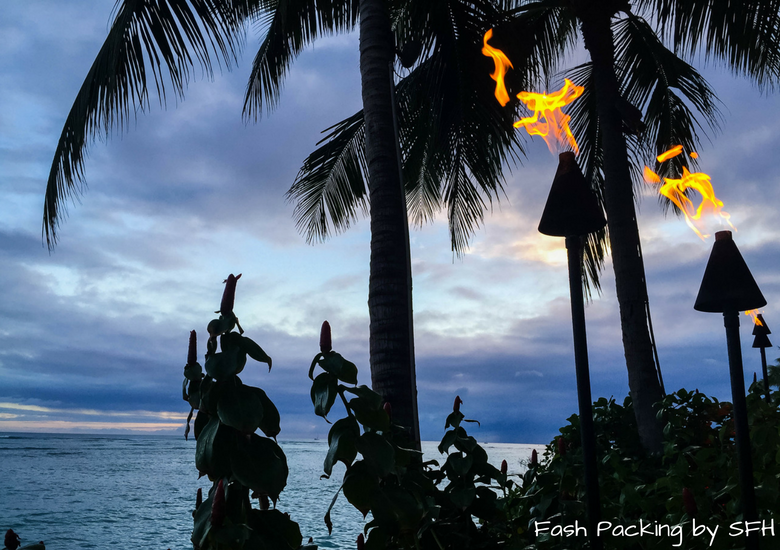 Fash Packing by Sydney Fashion Hunter: Sheraton Waikiki Review - Sunset