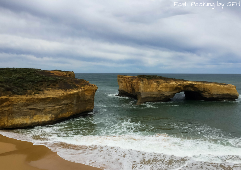 Fash Packing by SFH: Road Trippin' Australia's Iconic Great Ocean Road - London Bridge